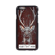 Personalized Phone Case - Deer Design Metal Case for iPhone 6 Plus
