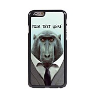 Personalized Phone Case - Baboon Design Metal Case for iPhone 6