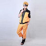 Naruto Shippuden Uzumaki cosplay traje