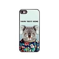 gepersonaliseerde telefoon case - koala ontwerp metalen behuizing voor de iPhone 5 / 5s