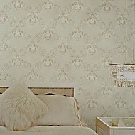 Wall Paper Wallcovering,  European Style High Foaming Village Design Non-woven Wall Paper