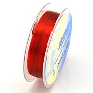 pesce di nylon linea di pesca lure 0,28 millimetri (100m, 7.5kg, rosso)