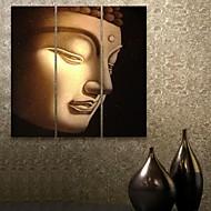 e-Home® venytetty kankaalle art buddhan koristemaalausta sarja 3