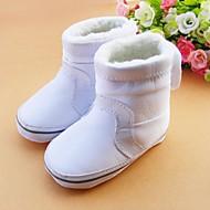 Svart / Rosa / Hvit - Baby Sko - Fritid - Tekstil - Støvler
