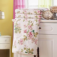 sensleep® komfortable tynde blomster 100% polyester quilt 1pc fuld størrelse