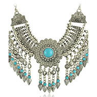 Women's Alloy/Rhinestone/Resin Necklace Party/Daily