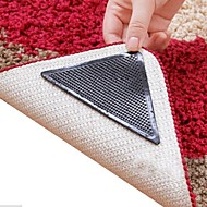 8 Pieces Amazing Reusable Washable Triangle Non Slip Skid Rug Grippers Carpet Mat Stickers