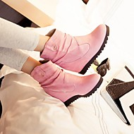 Women's Shoes Round Toe Wedge Heel Ankle Boots More Colors available