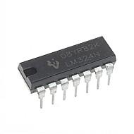LM324 LM324N DIP-14 Integrated Circuits  IC (10pcs)