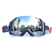 Basto TPU nero occhiali da neve cornice sensore d'argento sci