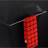 Towel Bar / Chrome / Wall Mounted /600*75*15.5mm /Zinc Alloy /Contemporary /600mm 75mm 1.5