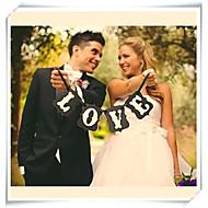 Hochzeitsdeko beliebte Liebe Verlobungsfeier Banner Foto Requisiten