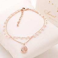 Women's Chain/Fashion/Personalized Bracelet Cubic Zirconia Cubic Zirconia