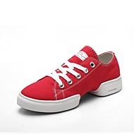 rachadas únicos pedaços sapatos de dança calcanhar sapatilhas de dança das mulheres mais cores
