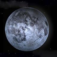 θεραπευτικό φως φεγγάρι οδήγησε τοίχο λυχνία φεγγάρι με τηλεχειριστήριο