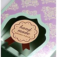 150pcs מדבקות עבודת יד קישוטים למסיבת חתונה מקלחת אריזת מלאכת אפיית קופסא ממתקי מתנת DIY חותם תינוק