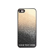 gepersonaliseerde telefoon geval - druppel water ontwerp metalen behuizing voor de iPhone 5 / 5s