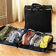 Shoe Bags Textile withFeature is Travel , For Shoes