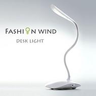 4 couleurs de lampes de chevet table pliable capteur lampe tactile conduit lampe de lecture rechargeable avec adaptateur gratuit