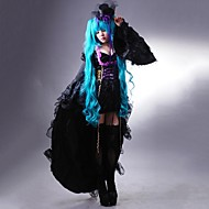 Vocaloid - Sandplay Singing Of The Dragon Hatsune Miku Cosplay Costume