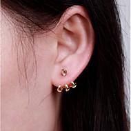 Stud Earrings Unisex Alloy Earring Non Stone