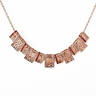 Women's Alloy Necklace Daily/Office & Career