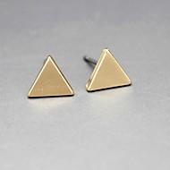 Women's European Style Fashion Simple Triangle Earrings(1Pair)