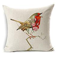 Cotton/Linen Pillow Cover , Animal Print Modern/Contemporary