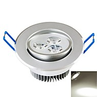 3W תאורת תקרה מובנה 3PCS COB 300-350 lm לבן טבעי דקורטיבי AC 85-265 V
