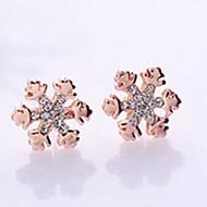Stud Earrings Men's/Women's Alloy Earring Rhinestone