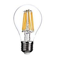 ON E26/E27 8W 8 COB 800 LM Meleg fehér A60(A19) edison Régies (Vintage) Izzószálas LED lámpák AC 220-240 V