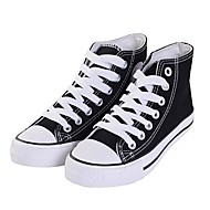 Herenschoenen Casual Canvas Modieuze sneakers Zwart/Blauw/Rood/Wit