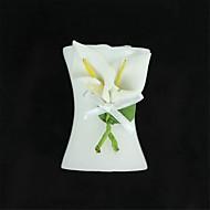 Elegant Home Spathiphyllum Candle