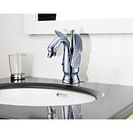 Bathroom Gooseneck Sink Basin Mixer (S-1001001)