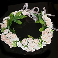 Women's Fabric Headpiece - Wedding Flowers/Wreaths