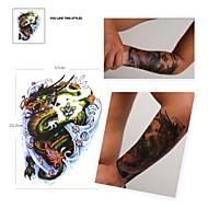 PC 1 impermeable color de gran tamaño de pádel de patrón dragón pegatinas tatuaje