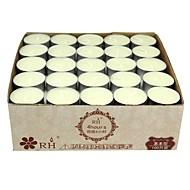 Tealight svíčky bílá unscented set 100