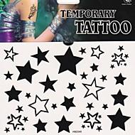 1 Tatouages Autocollants Autres Non Toxique Bas du Dos ImperméableHomme Femme Adulte Adolescent Tatouage TemporaireTatouages