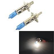 Carking™H1 100W 5000K 1100LM Ultra Warm White Halogen Headlight Bulbs (12V / Pair)