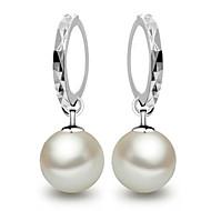 Druppel oorbellen Sterling zilver Dierenvorm Vlinder Schermkleur Sieraden Voor 2 stuks