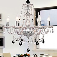 Candle Featured Luxury 6 Lights Chandelier