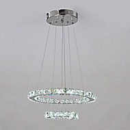Chandelier ,  Traditional/Classic Chrome Feature for LED Metal Living Room Dining Room Hallway