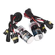 2pcs h11 35w 6000k nascosto xeno lampadina di ricambio kit di conversione della luce lampade testa dell'automobile della luce della lampada
