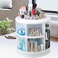 360 ° roterende kosmetik opbevaringsboks stå kasse makeup børste pot kosmetisk arrangør (3 valgbare farver)
