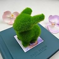 schattige groene kunstgras konijn voor auto en woondecoratie