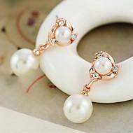 Stud Earrings Men's/Women's Alloy Earring Pearl