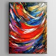 Pintados à mão AbstractoClássico 1 Painel Tela Hang-painted pintura a óleo For Decoração para casa
