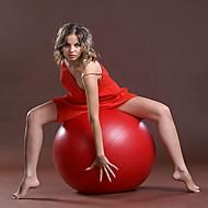 Fitnessball ( Rot ) - Kunststoff