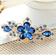 European Style Fashion Boutique Flower Barrettes
