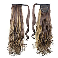 Excellent Quality Synthetic Clip In Ponytail 26 Inch Long Curly Hair Piece